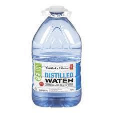 آب مقطر تصفیه شده