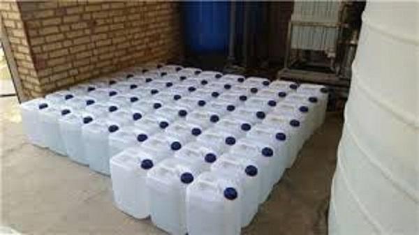 آب مقطر دیونیزه