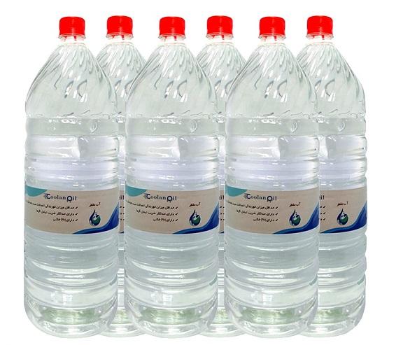 قیمت آب مقطر خودرو