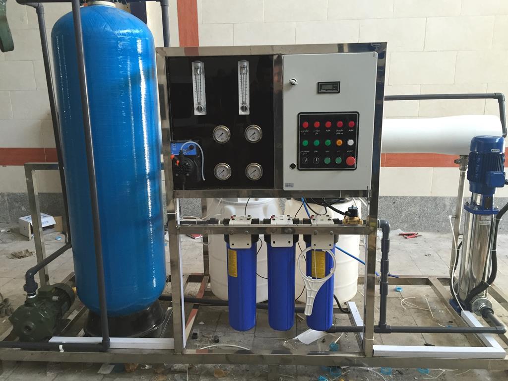 کارگاه تولید آب مقطر